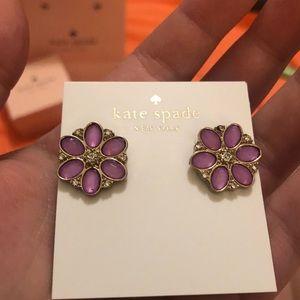 NWOT kate spade 🌸 earrings